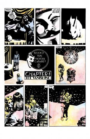 for Vendetta Comic Book