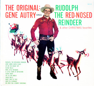 KX11 - Autry, Gene Rudolph the Red-Nosed Reindeer Original and other ...