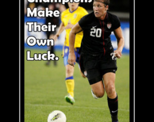 Abby Wambach Soccer Quotes Soccer poster abby wambach