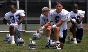 ... Troy Aikman, who the Cowboys selected No. 1 overall in that year's