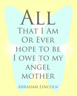 Angel Mother I Love My Aunt Quotes