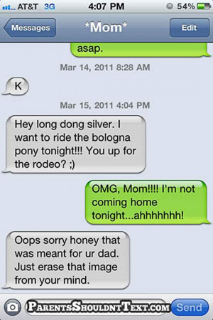 29 Funny Text Messages from Mom and Dad