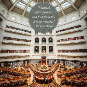 more about libraries, check out our collection of library quotes ...