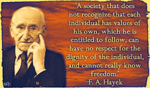 Quotes by Friedrich August von Hayek