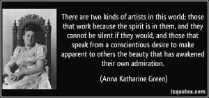 More Anna Katharine Green Quotes