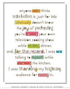 Kitchen Art - Funny Cooking Art, Typographic Print, Colorful Kitchen ...