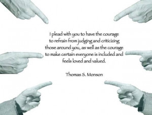 ... fits the issues I'm having on Facebook. LDS Quote by President Monson