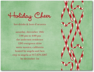 Funny Christmas Party Invitation Sayings