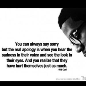 apology beautiful