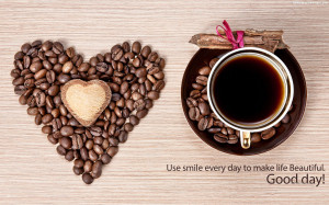 Good Morning Coffee Beans Quotes Images | HD Wallpapers Images