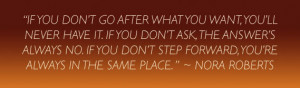 ... quote that will hopefully force you to ask whenever you need it
