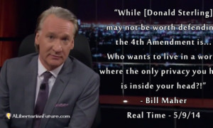 Bill Maher on Privacy