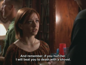 friend willow rosenberg to riley finn in the initiative btvs
