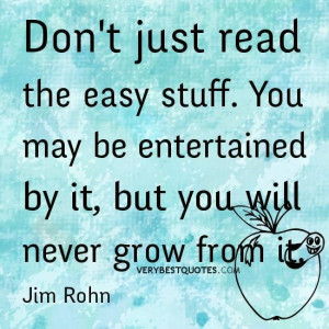 Reading quotes dont read easy stuff good quotes about reading