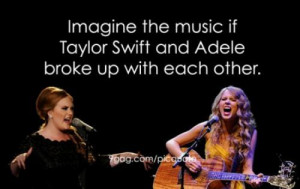 Taylor Swift And Adele's break-up records!