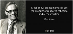 Ulric Neisser Quotes