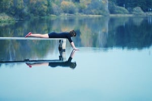 beautiful, cool, fashion, girl, green, hipster, indie, lake, nature ...