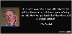 More Vin Scully Quotes