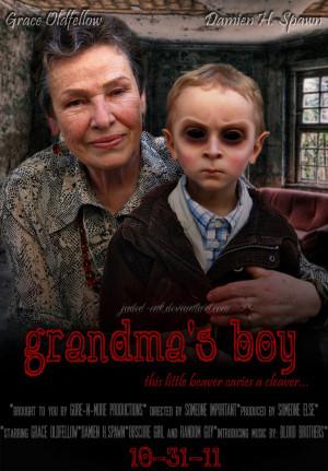 Grandmas Boy Grandma's boy by jaded-ink