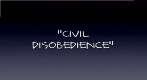 Civil Disobedience Important Quotes Explained