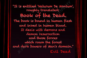 Evil Dead Book of the Dead Sam Raimi Goth by JenniferRoseGallery, $20 ...