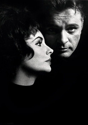 Elizabeth Taylor and Richard Burton Photo by John ... / Hollywood