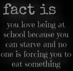 Anorexia Quotes Tumblr Society killed the teen