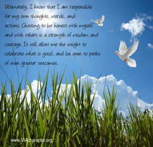 quote affirmation about honesty