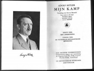 This image is from the translation of Mein Kampf published in ...