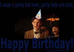 birthday doctor who happy birthday matt doctor who happy birthday ...