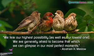 Abraham H. Maslow Quotations with Images, Abraham H. Maslow Quotes ...