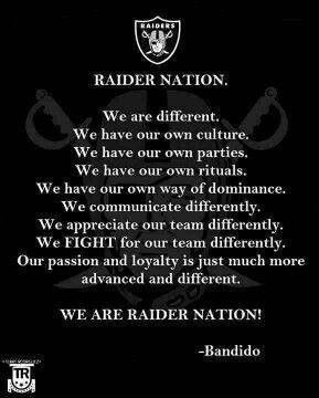 Best Raiders Nation Quotes