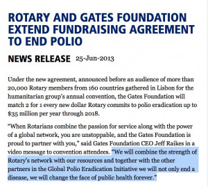 Gates Foundation extended fundraising agreement to end polio through ...