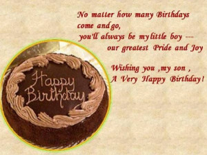 Birthday Quotes for Son, Birthday Quotes, Birthday Wishes