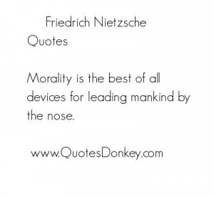 The moral concepts in friedrich nietzsches on the genealogy of morals