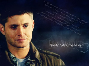 Supernatural Dean Sad Quotes