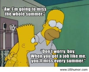 End of Summer Quotes Funny