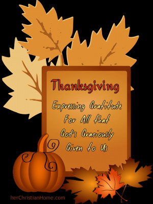Thanksgiving – Poem