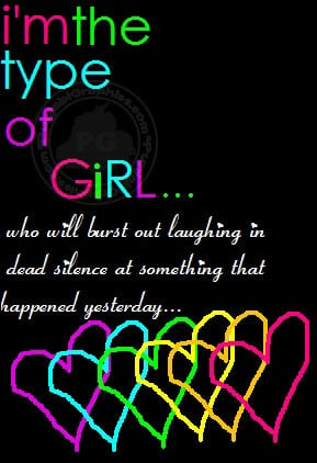 Girls Quotes: I'm The Type Of Girl