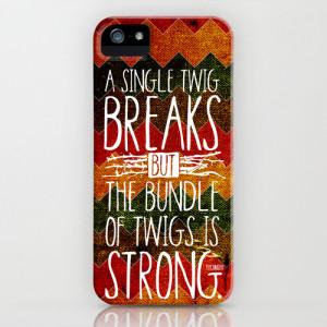 Tecumseh Quote iPhone & iPod Case