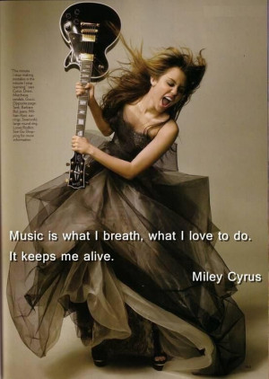 Music is what I breathe. ☆