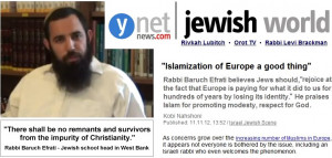 "Rabbi Efrati concluded his response by saying: "" Even if we are in a ..."
