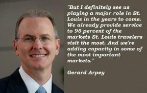 Gerard arpey famous quotes 1