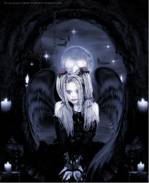 Gothic Angel by pixievamp