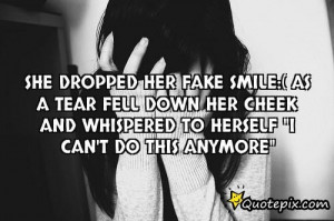 fake smile quotes and sayings