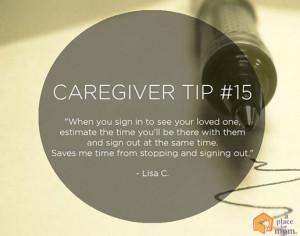 caregiver providingpanionship to an elderly person
