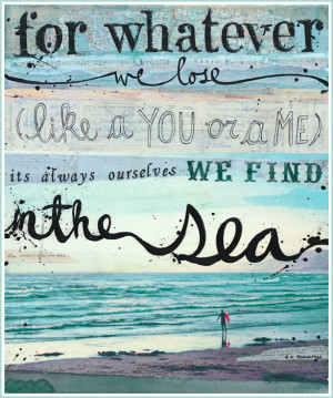 Inspirational Quotes About The Sea And Beach Pic #20
