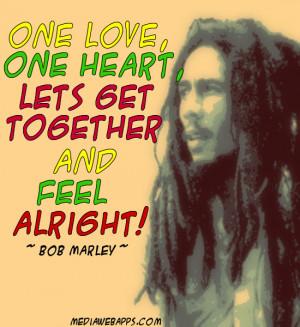 Bob Marley Love Quotes And Sayings Bob marley