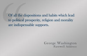 30 Informative George Washington Quotes
