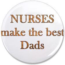 Male Nurse Buttons, Pins, & Badges
